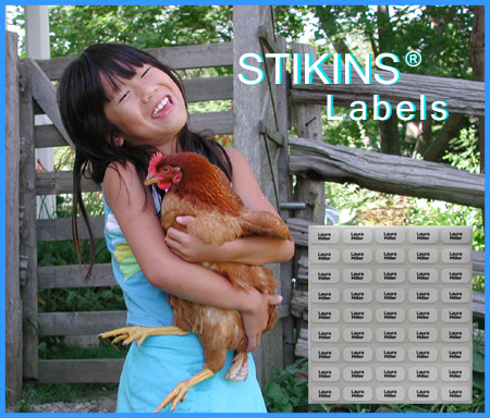 STIKINS® name label